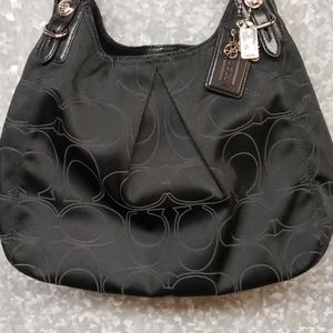Coach Mia Outline C Maggie Black bag